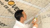 Монтаж на системата за топлоизолация скатен покрив