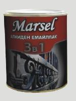 Алкиден емайллак 3 в 1 MARSEL