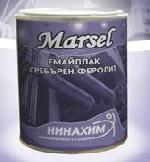 Емайллак сребърен феролит MARSEL