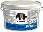 Фасадна боя Caparol Fassaden Weiss