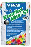 Лепило за керамични плочки и камък Mapei Keraflex Maxi S1