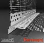 Откапващ ъгъл за топлоизолация за скрит монтаж LIKOV