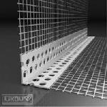 PVC ъгъл за шпакловане с мрежа LIKOV