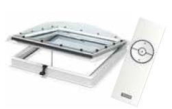 Прозорец и изход за плосък покрив CVP с дистанционно управление