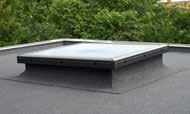 Прозорци за плоски покриви с плоско стъкло
